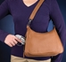 Gun Tote'n Mamas Concealed Carry Basic Hobo Handbag - GTM-70-Brown