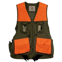 Trekker Dog Handlers Upland Hunting Vest with waist belt front view