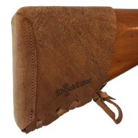 NEW -- ShockEater® Recoil Pad Kit, Leather recoil pad, removable, slip on, limbsaver, Browning Reactar Pad