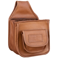Wild Hare Leather Divided Pouch