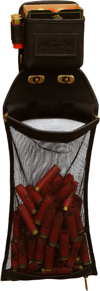 Wild Hare Leather Trap Shooter's Combo Trap combo, one box hull pouch combo, wild hare trap combo