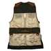 Wild Hare Primer Mesh Vest, Forest/Brown - Ambidextrous Shooting Pad - WH-421-FB-L