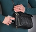 Gun Tote'n Mamas Embroidered Lambskin Concealed Carry Shoulder Bag - GTM-10