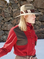 BraeVal Womens Artemis Shirt 210 Sonoma Red